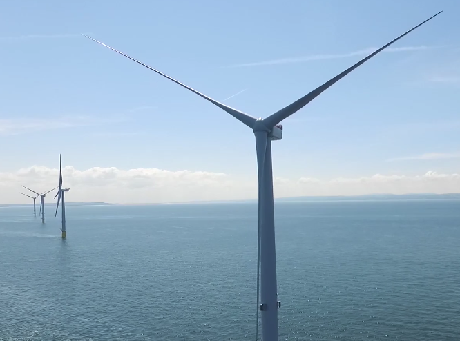 Drone Filming at the World's Tallest Windfarm