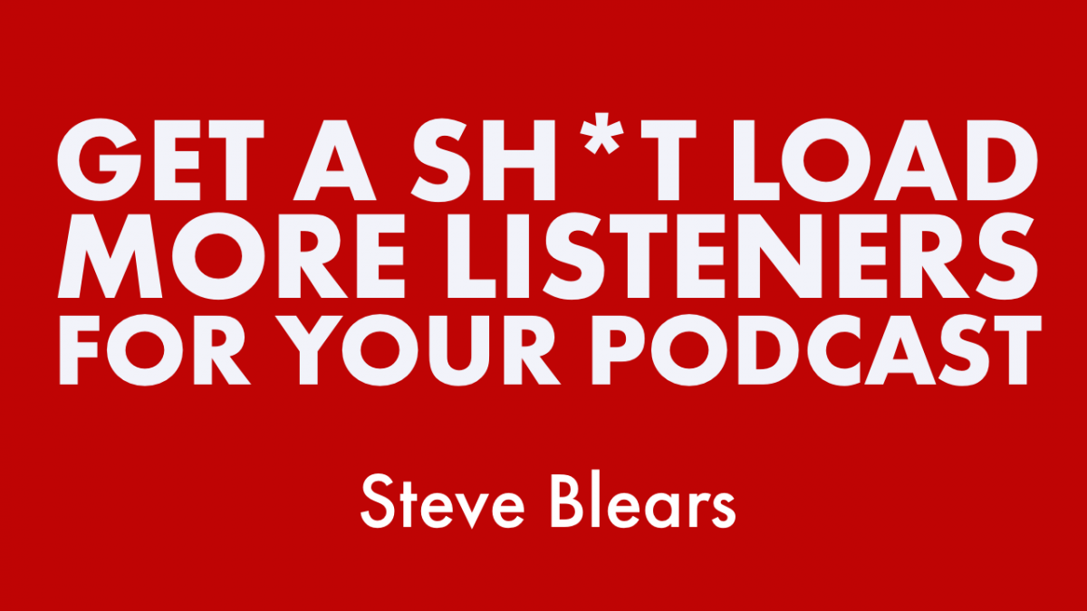 get more listeners for your podcast
